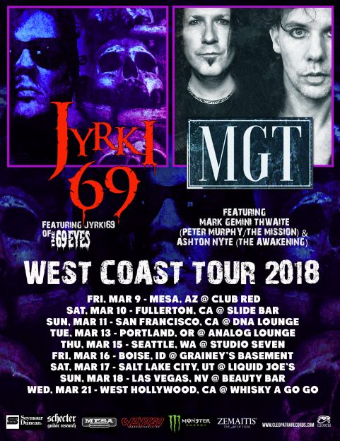 JYRKI69/ MGT tour flyer
