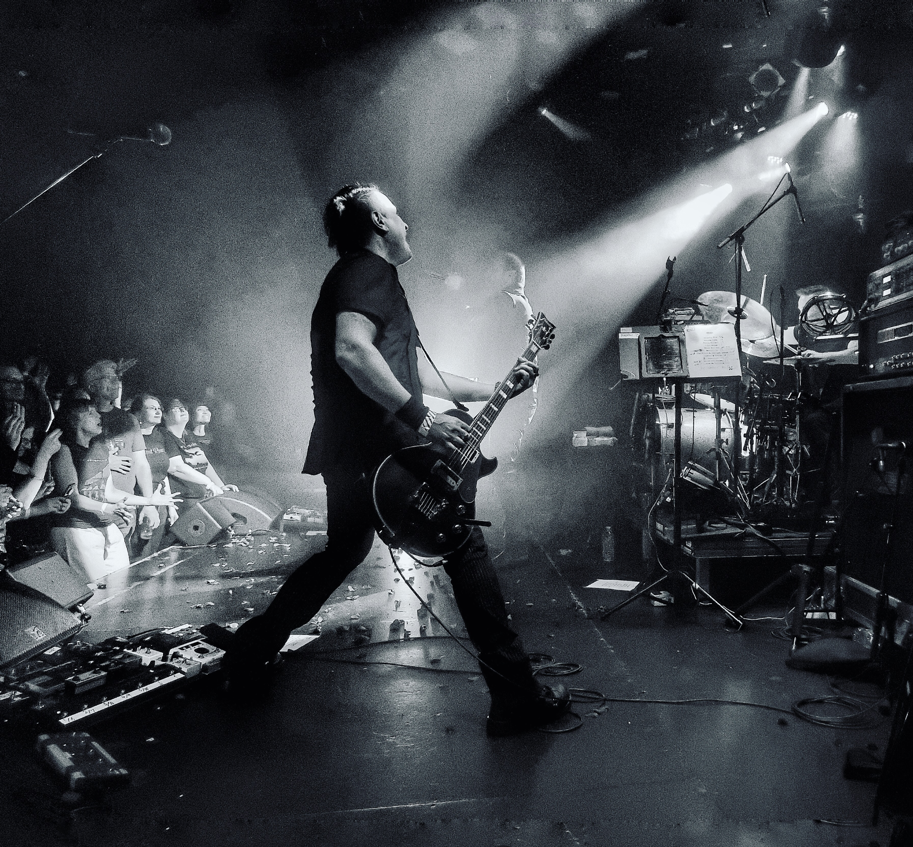 MGT live with Peter Murphy NYC August 2019